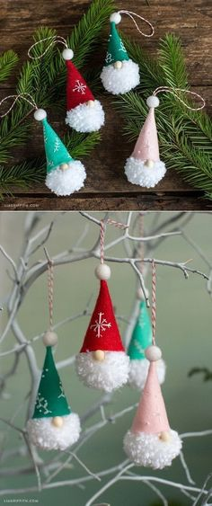 20+ Easy Last-Minute DIY Christmas Decorations - For Creative Juice