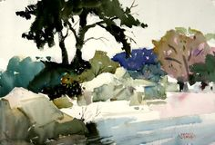 Watercolor Paintings by artist Frank Webb | FRANK WEBB | Pinterest ...