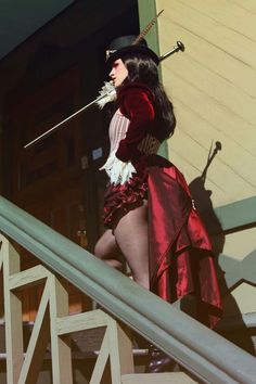 Steampunk ringmaster maybe? Anywho it's awesome!!                                                                                                                                                                                 More