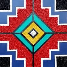 Related image Africa Painting, Africa Art, Dot Painting, Painting Patterns, Kunst Portfolio, African Wall Art, African Quilts, African Colors, Geometric Artwork