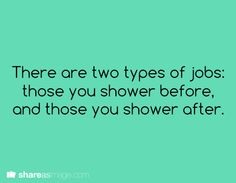 And then there are writers. Who occasionally forgets that they are humans and also have to shower.