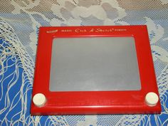 """Vintage Toy """"Etch a Sketch"""" -- I had this and enjoyed it a lot."""