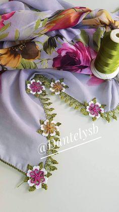 Crochet Borders, Crochet Flower Patterns, Crochet Designs, Crochet Flowers, Baby Knitting Patterns, Rubber Band Box Braids, Saree Tassels, Rainbow Crochet, Ribbon Embroidery