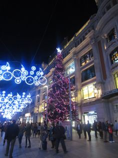 Calles de Barcelona.. Navidad
