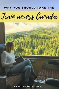 Taking the train across Canada is one of the best ways to travel the country. Find out everything you need to know about how to plan a train trip across Canada. #Canada #Train #BritishColombia #Rockies #NationalParks #BucketList #Trips