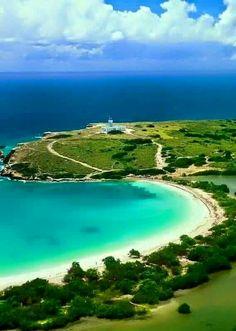 Vista del Faro de Cabo Rojo, PR