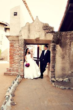 Melissa Munding Wedding Photography  Mission San Juan Capistrano