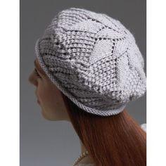 Intermediate Women's Hat Knit Pattern
