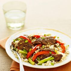 Beef and Peppers Stir-Fry Recipe - Good Housekeeping