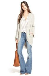 Hinge Cardigan, Top and Treasure&Bond Jeans - did I mention that you need to resurrect your flares!