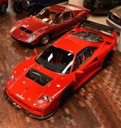 Ferrari F40 LM & Lamborghini JOTA