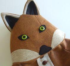 Fantastic Little Fox Coat by littlegoodall on Etsy