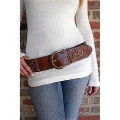 Wide Fashion Belt Women Fashion Style Wide