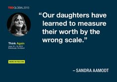 Sandra Aamodt quoted at TEDGlobal 2013 / Photo: James Duncan Davidson
