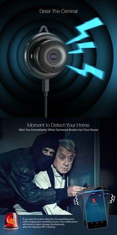 Digoo DG-M1Q 960P 2.8mm Wireless Mini WIFI Nachtsicht Smart Home Security IP-Kamera Onvif Monitor