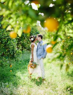 orange grove inspiration photo by Marianne Wilson Photography