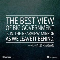 I know many Reagan quotes get overused, but this one is one of my top favorites. And it is VERY timely. via @kesgardner