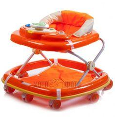 Ходунки Baby care Top-Top(orange)  — 3150р. -------------------- для девочки и мальчика от 6 до 18 месяцев.