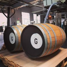 History was made today here in Pendleton Oregon. We barreled our first whiskey made from a bourbon mash. This was a long time coming to fruition. #whiskey #bourbon #craftdistillery #drinkoregon #pendleton #oregon #easternoregon #delicous #corn #wheat #barley #malt
