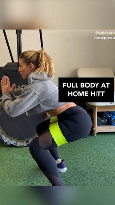 Leg And Glute Workout, Hitt Workout, Slim Waist Workout, Gym Workout Videos, Gym Workout For Beginners, Fitness Workout For Women, Lift Buttocks Workout, Glute Workouts, Band Workouts