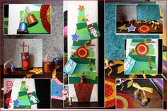 Collage nuestras manualidades navideñas