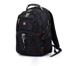 New-16-Mens-Swiss-Army-Laptop-Bag-Backpack-Travel-Casual-Rucksack-Schoolbag