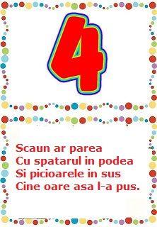Cifrele poezii Preschool Activities, Kids And Parenting, Logos, Logo