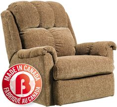 Browse our extensive inventory of leather and fabric chairs available in a wide variety of designs and colours. The Brick, Saving You More! Living Room Chairs, Living Room Furniture, Chenille Fabric, Your Perfect, Recliner, Relax, Cushions, Breeze, Brown