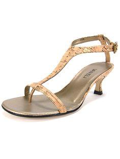 b96843e831 Vaneli Marlina Cork Heel Sandals - Women's Shoes Women's Shoes Sandals,  Wedge Shoes, Womens