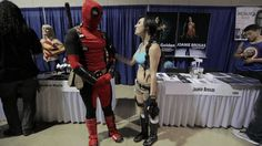 Deadpool got Lara Croft consent to touch her boobs
