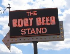 This is where to go for freshly made root beer every day.  The Root Beer Stand in Sharonville, OH.  Click on the picture to link to an article about how they make root beer.