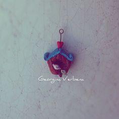 """""""Wearable home"""" Handmade clay jewelry"""