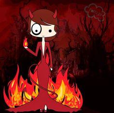 ilustración foltys vs the devil costume