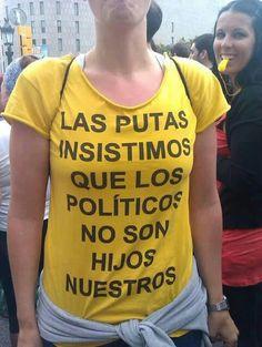 Políticos. ..