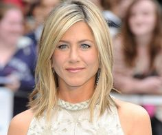 jennifer anniston hair. Not the right color but the right idea!
