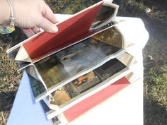 A repurposed childrens book made into an accordion file. Perfect to sort scrap booking papers, letters, coupons, recipes. Made entirely of the original