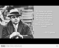 Al Capone thinking