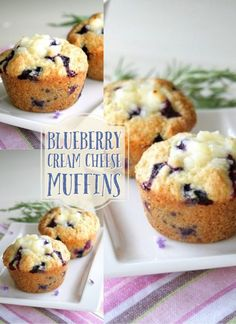 Blueberry Cream Cheese Muffins...or How a Muffin Can Lead to Forever - Doughmesstic