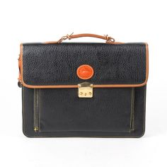 73cb10eb9 Dooney & Burke Attache Portfolio Brief Case