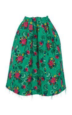 Floral Midi Skirt by MARNI for Preorder on Moda Operandi