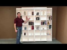 Pivoting Bookcase Murphy - YouTube