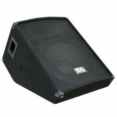 """Seismic Audio - 15 Inch Floor Wedge Style Monitor - Studio, Stage, or Floor use - PA/DJ Speakers - Bar, Band, Karaoke, Church, Drummer use by Seismic Audio. $134.99. 15"""" Stage or Floor MonitorModel # - SA-15MWoofer - 15"""" 2 way crossover with a 50 ounce magnet2.5"""" Kapton voice coil 250 Watts RMS - 500 Watts Peak Wired at 8 ohms 40Hz - 20KHzSensitivity: 97 db Piezo Tweeter - 4x10 5/8"""" plywood front panel Black carpet with black metal cornersRecessed handles Full Metal Grill I..."""