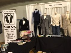 Simon's Formal Wear at Georgia Bridal Show on 2/7/16 in Augusta