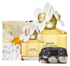 """""""daisy Marc Jacobs"""" by lovemeformemorgan ❤ liked on Polyvore featuring beauty and Marc Jacobs"""