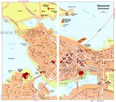 awesome Seattle Map Tourist Attractions Tours Maps Pinterest