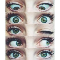 dani cimorelli's eyes