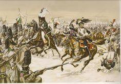 EYLAU.-La carga del Mariscal Murat.