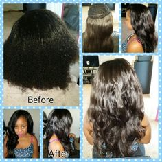 Relaxer, Color & Sew In