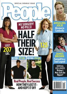 People Magazine - Half their size