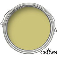 Crown Breatheasy Gentle Olive - Silk Standard Emulsion Paint - 2.5L